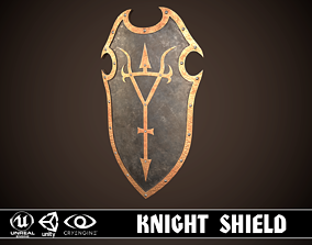 Knight Shield 04 3D asset
