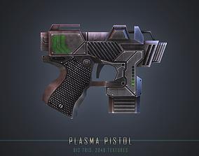 3D asset Plasma Pistol