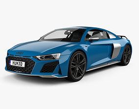 3D Audi R8 V10 coupe 2019