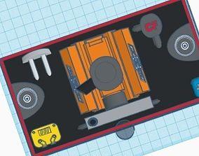 3D print model RC4WD Engine bay