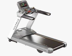 3D matrix fitness T7xe Treadmill