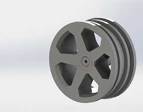 3D printable model RC Car Wheel Truck Rim Offroad