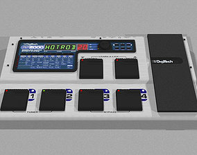 3D model Digitech Guitar Effects Processor - Cinema 4D