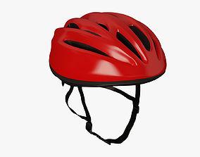 3D model Road Bicycle Helmet