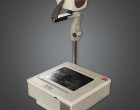 CLA - Projector - PBR Game Ready 3D model