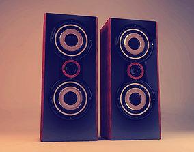 3D model accessories Speakers