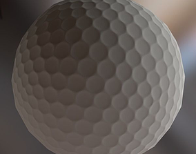 Golf Ball 3D model VR / AR ready