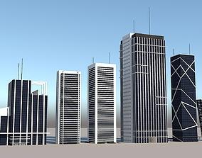 3D asset Skyscraper Models