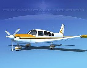 3D model Piper Cherokee Six 300 V02