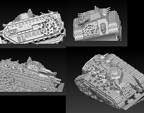 EPIC - ARMAGEDDON SET 2 CRUSHED VEHICLES 3D print model