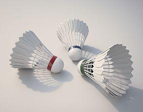 Badminton Balls 3D