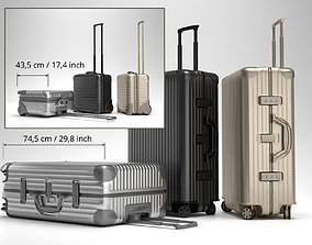 3D Rimowa Topas Trolley Collection