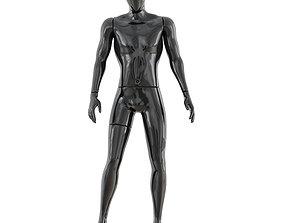 Faceless male mannequin 40 3D