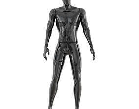 Faceless male mannequin 40 3D
