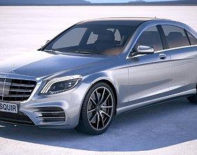 Mercedes S-class 2018 3D