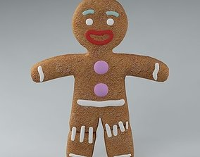 3D model Gingerbread Man 01