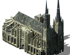 Different dimension - architecture - church 01 3D