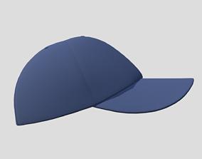3D model realtime PBR Baseball Cap