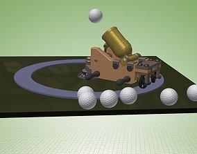 3D Mortar Golf Ball Size