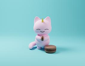 Cat-unicorn 3D
