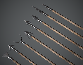 3D asset Arrow and Bolt