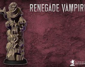 3D printable model Renegade vampire miniature