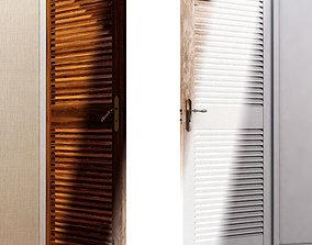 Double Leaf Door 3D model