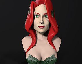 Bust - Poison Ivy 3D print model