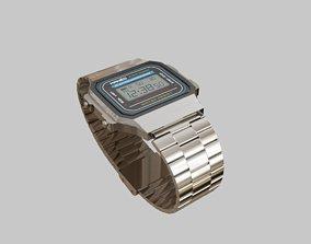 3D model Digital Wristwatch