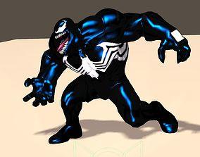 3D Venom From Marvel C of C Poser Rigged