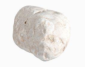 3D model mineral Eroded Granite Rock