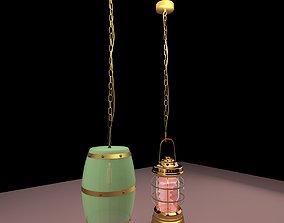 Chinese lantern palace 3D model