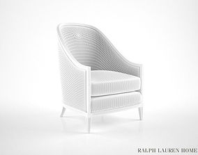 Ralph Lauren Mayfair Bergere armchair 3D