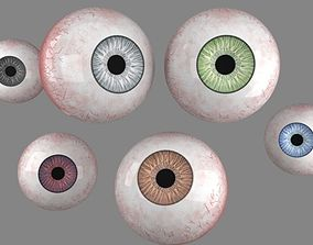 3D eyes with 6 varing eye colours