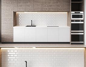 plate Modern Kitchen 3D model