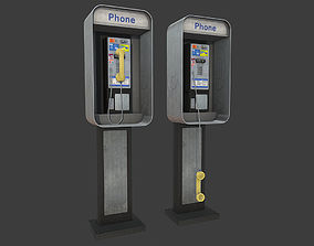 3D model Phonebooth