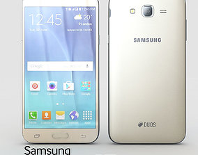 3D Samsung Galaxy J7 Gold
