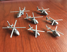 Miniature Airbus Helicopters Collection 3D print model