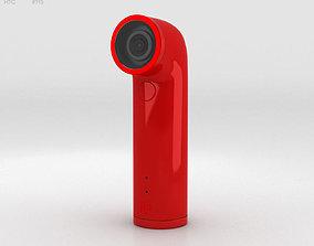 HTC Re Camera Red 3D model