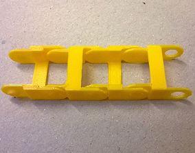 cable path 3D print model