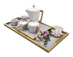 3D model coffee furniture set