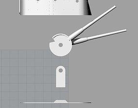 3D printable model Japanese gun turret