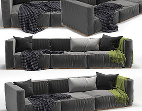 sofa peanut 3D model