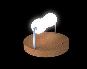 desktop 3D printable model Desktop Lamp