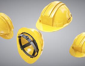 3D model realtime Construction Helmet
