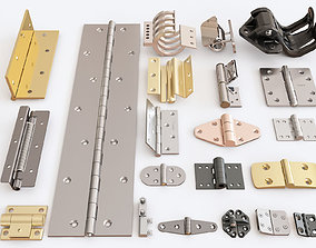 Door hinge vol 02 3D