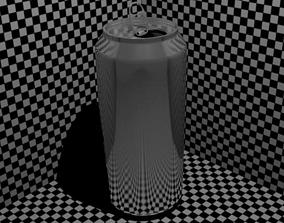 Aluminium Can 3D model