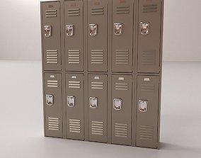 3D model Locker V2