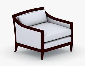0309 - Armchair 3D model realtime