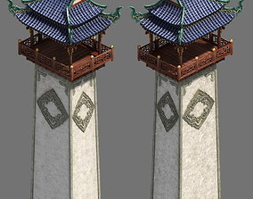 Road Religious - Background Tower 3D